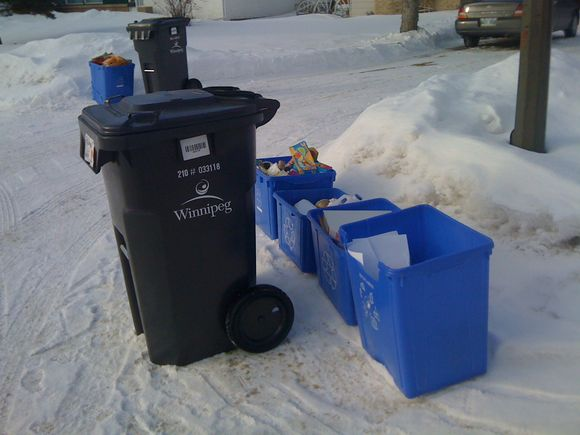 About our garbage cans!