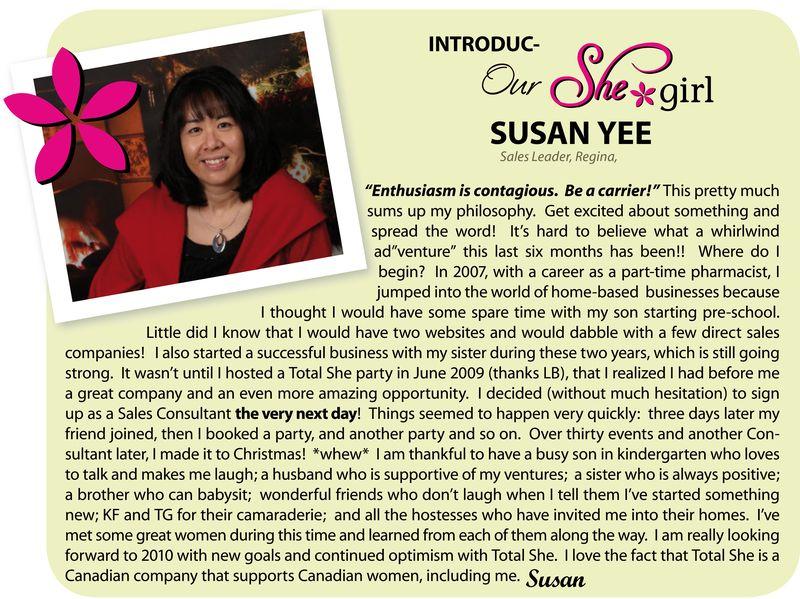 Introducing Susan