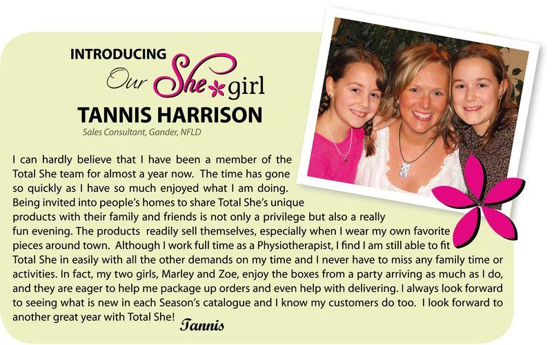 Introducing Tannis