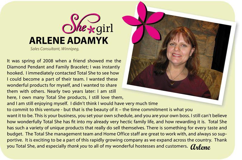 Introducing Arlene
