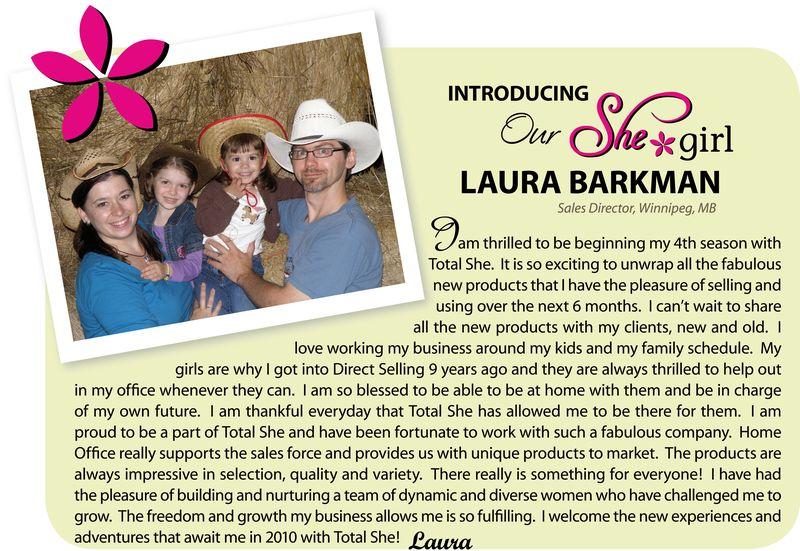 Introducing Laura